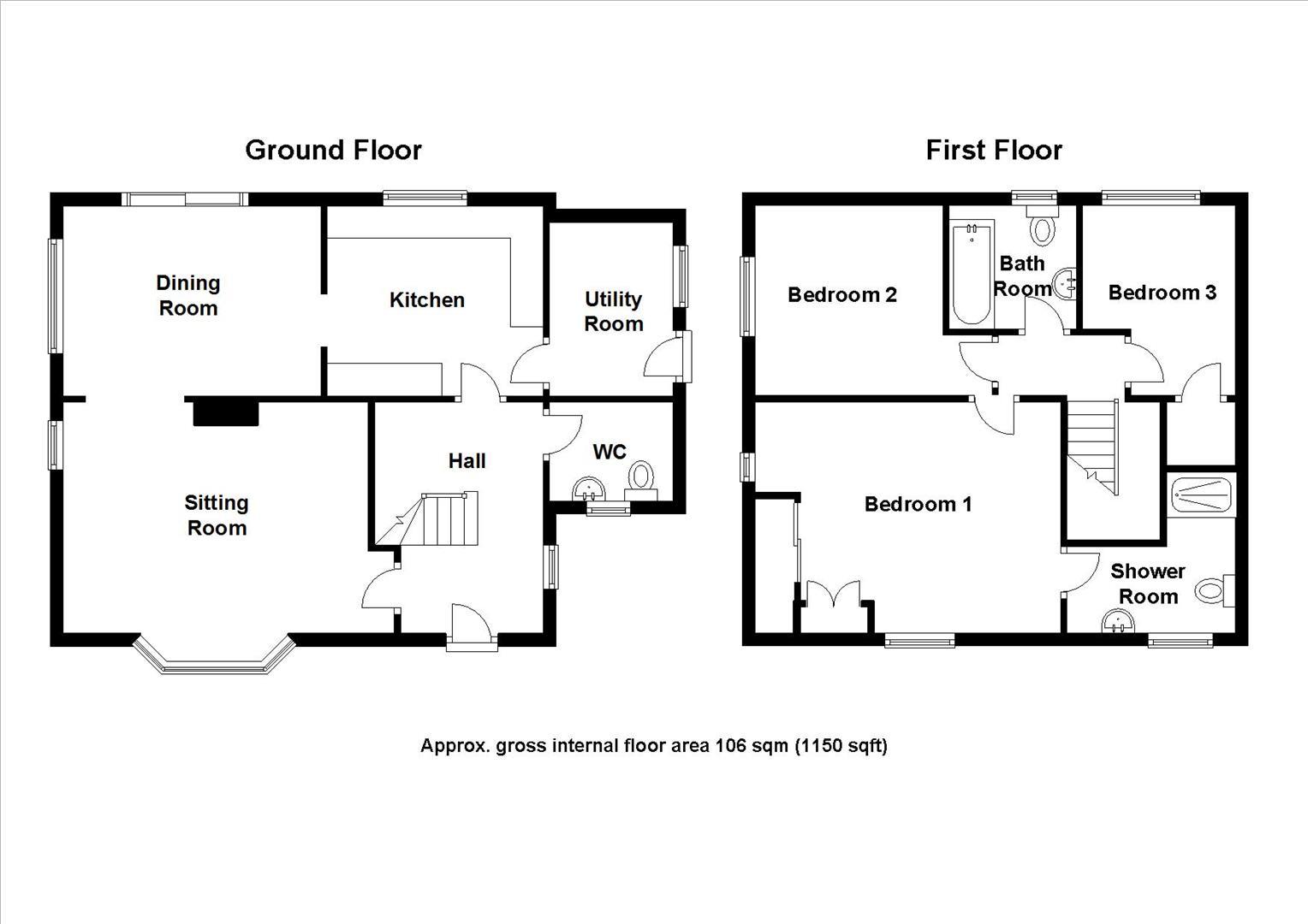 Kendal Way, Cambridge, Cambridge floorplan